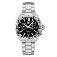 Tag Heuer Formula 1 Black Dial Grande Date Alarm Watch sold by Watts1858