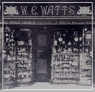 Old Watts 1858 Shop