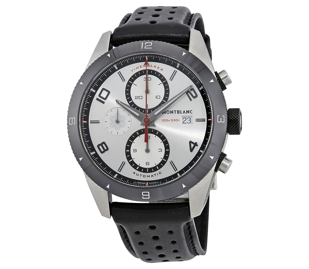 timewalker chronograph image mount black watches montblanc mens