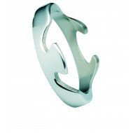 Georg Jensen Fusion White Gold End Ring