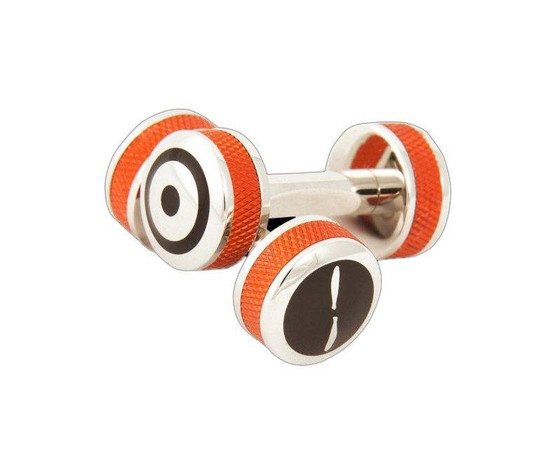 Bremont Orange Barrel Cufflinks