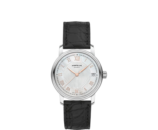 Montblanc Tradition Date Automatic Strap Watch