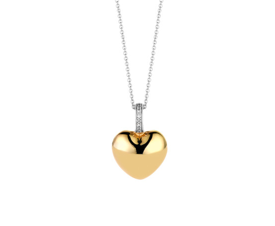 Ti Sento Gold Plated Silver Pendant and Chain 6745SY