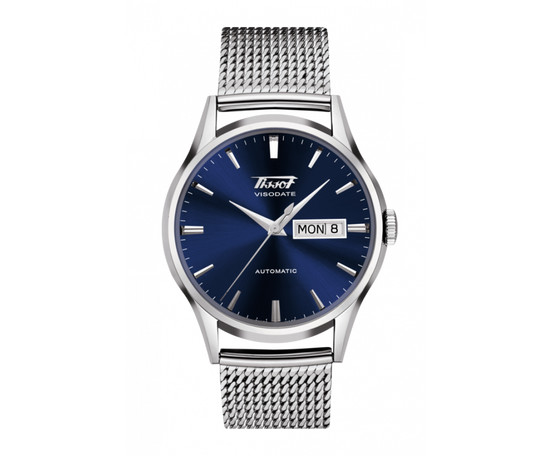 Tissot Heritage Visodate Automatic Stainless Steel Bracelet Watch T019.430.11.041.00