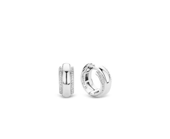Silver Hoop Earrings 7785ZI