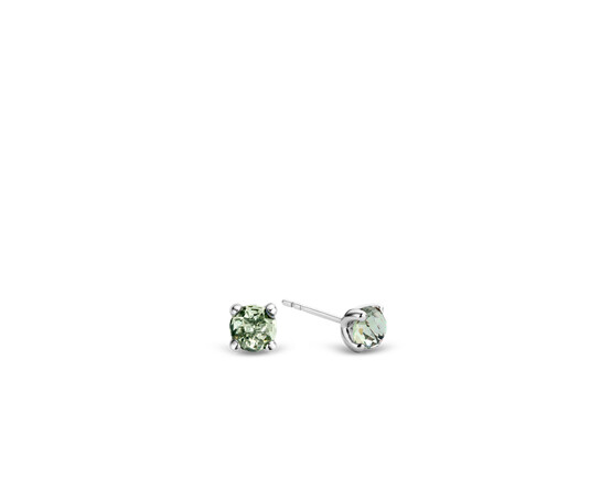 Ti Sento Silver Stud Earrings 7768GG