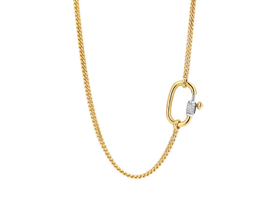 Ti Sento Milano Gold Plated Necklet 3968SY/42