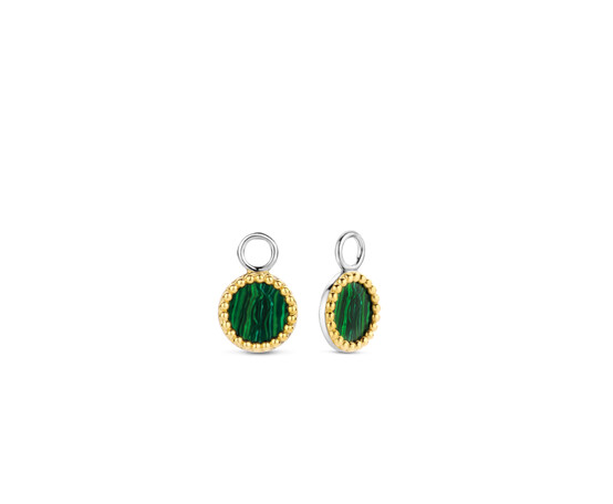 Ti Sento Silver  and Gold Plated Ear Charms 9227MA