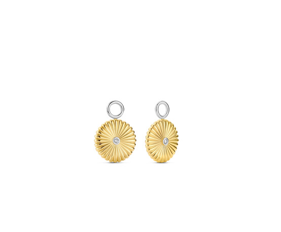 Ti Sento Silver and Gold Plated Ear Charms 9229ZY