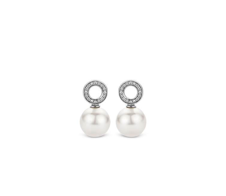 Ti Sento Silver Ear Charms 9186PW