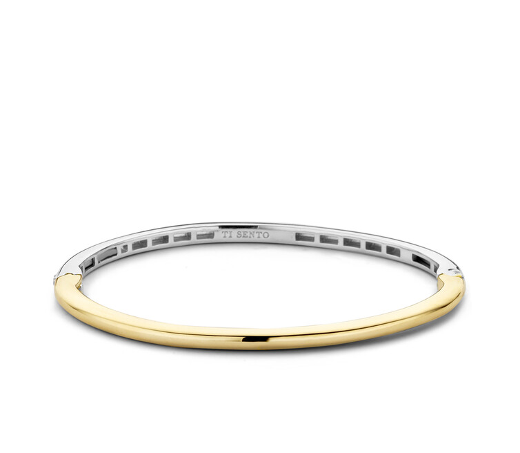 Ti Sento Gold Plated Silver Bangle 2889SY