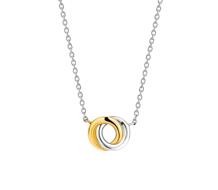 Ti Sento Gold Plated Silver Necklet 3915SY/42
