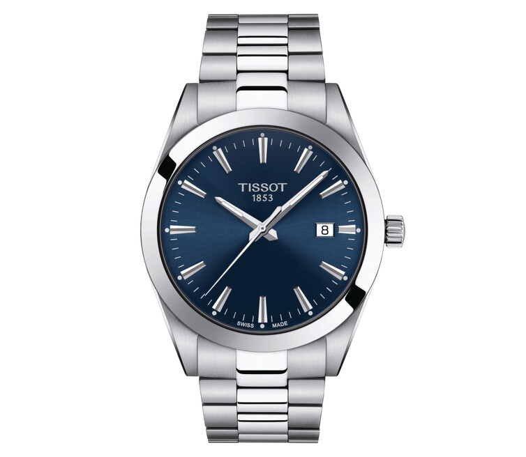 Gents Tissot Gentleman Quartz Bracelet Watch T127.410.11.041.00