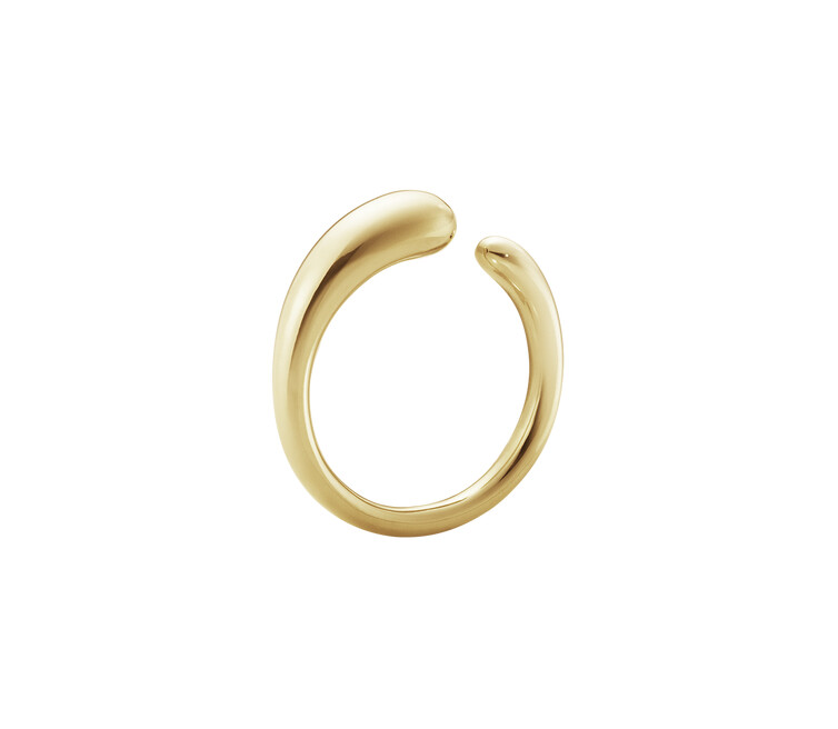 Georg Jensen Mercy 18ct Yellow Gold Ring 200000130054
